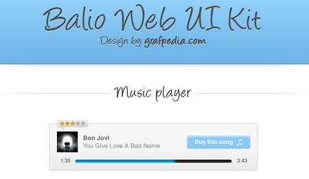 Balio Web UI Kit