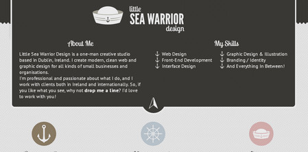 Little Sea Warrior Design