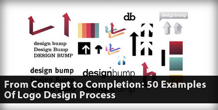 From Concept to Completion: 50 Examples of the Logo Design Process