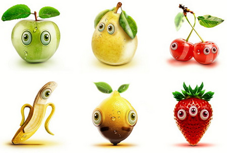 Crazy Fruits: When Fruits have Eyes