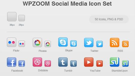 Social Media by WPZOOM