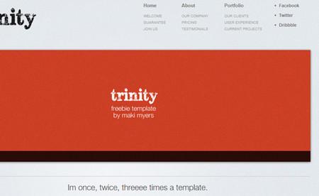 Trinity HTML5 Template