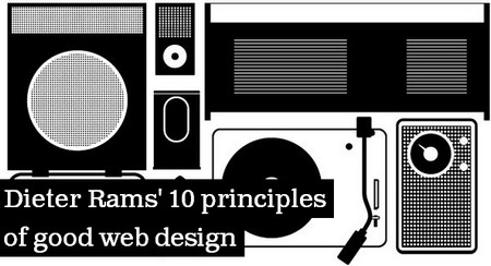 Dieter Rams' 10 principles of good web design
