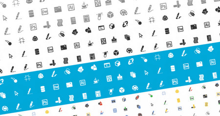 New Designers And Developers Icon Set!
