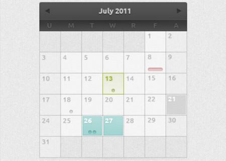 Calendar by Corbin Marc Hesse