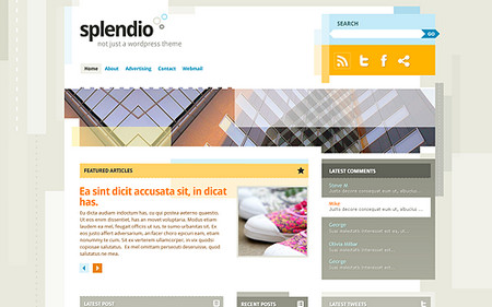 Splendio - WordPress 3.1 Theme