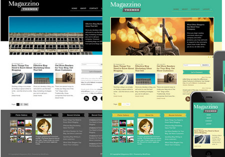 Magazzino is a minimalist professional theme