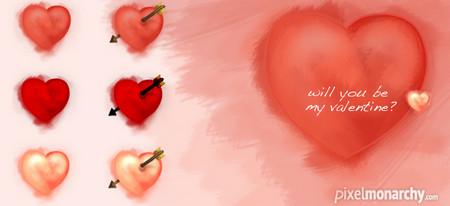 Hand Draw Valentine Icons