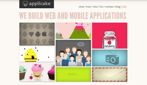 Applicake - Web and Mobile Applications