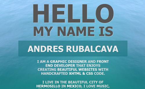 Andres Rubalcava