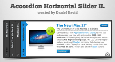 Accordion Horizontal Slider 2