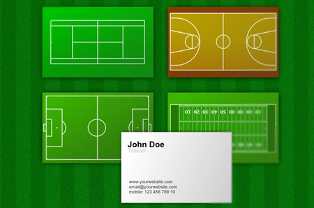 Trainer / Coach Business Cards