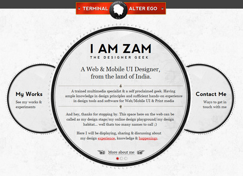 I am Zam - The Designer Geek