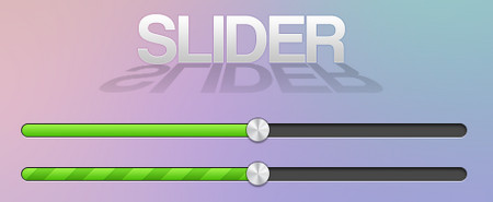 Green sliders