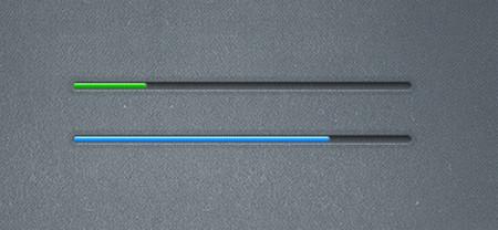 Rugged Tiny Progress Bars