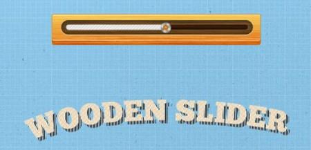 Wood slider