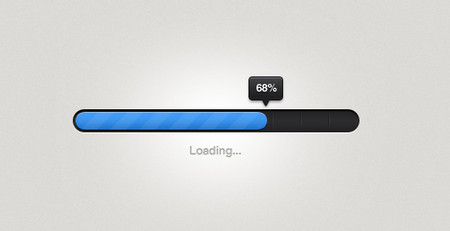 Stylish progress bar