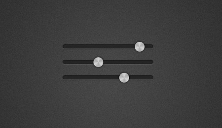 Simple empty slider