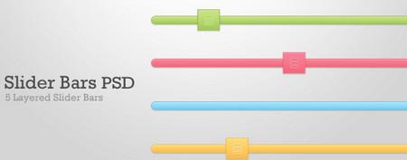 8 slider bars