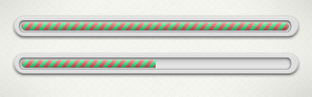 Candy style progress bar