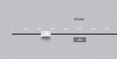 Slider + psd
