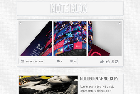 Note Blog
