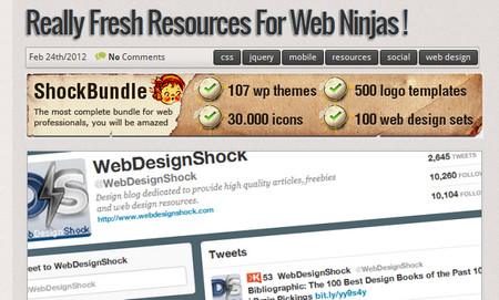 Really Fresh Resources for web ninjas !