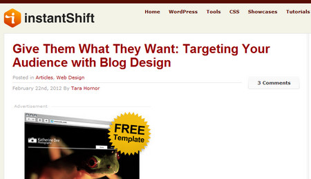 Give Them What They Want: Targeting Your Audience with Blog Design