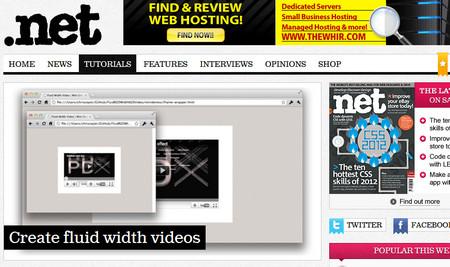 Create fluid width videos