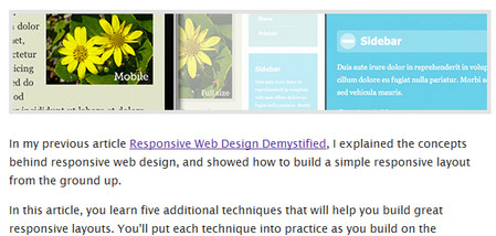Responsive Web Design: 5 Handy Tips