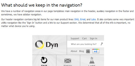 Web Development Tips For Navigation In Responsive Design