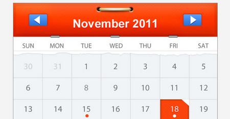 Create a Mobile Calendar App in Photoshop