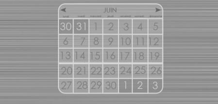 A very design calendar