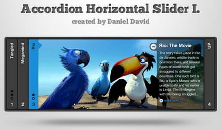 Accordion Horizontal Slider 1