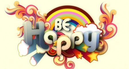 Be Happy Illustration