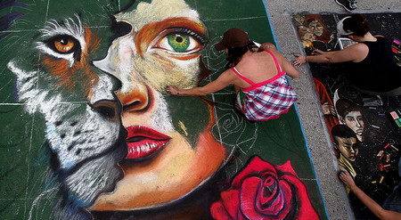 Lake Worth's 18th Annual Street Painting Festival