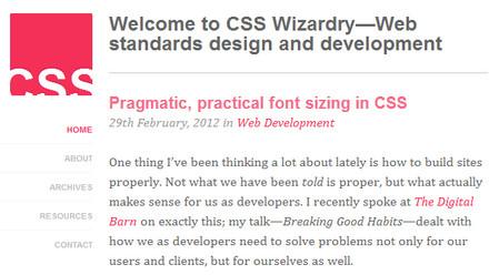Pragmatic, practical font sizing in CSS