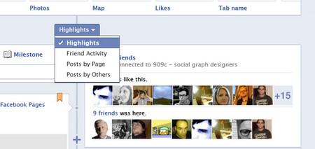 Facebook Page Fan Timeline