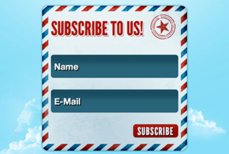 HTML5 Subscription Form