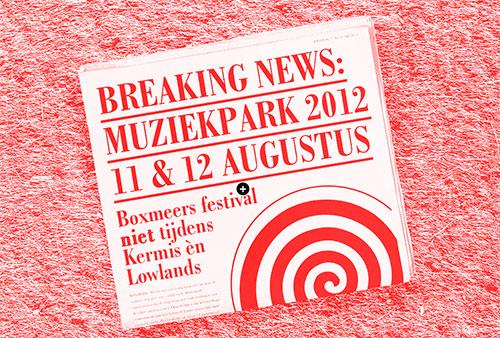 Muziekpark 2012