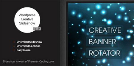 Creative Slideshow - wordpress plugin
