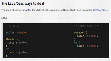 CSS Variables Preview