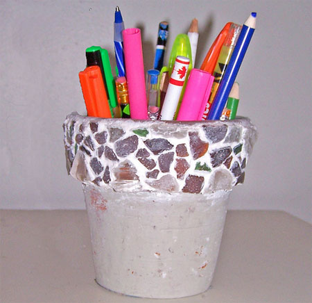 The pencil holder