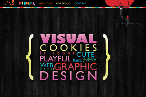 Visualcookies - web and graphic designer