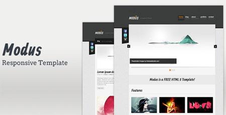 Modus - HTML Template