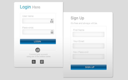 Learn How To Create A Modern Login and Sign up Form