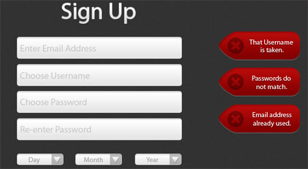 Sign-Up Set