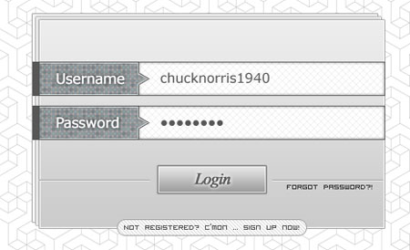 Awesome Login Box Template