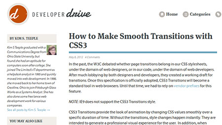 How to Make Smooth Transitions with CSS3