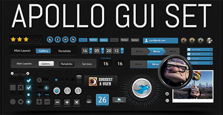 Apollo GUI set,